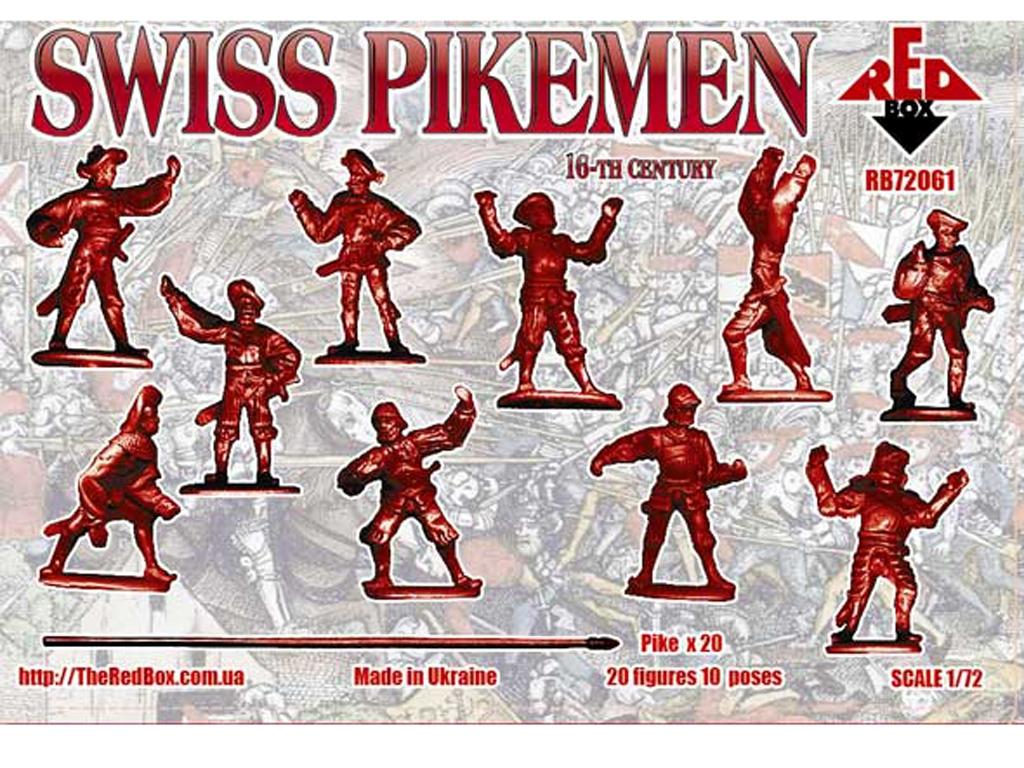 Infantería Suiza Pikeman, Siglo XVI  (Vista 2)