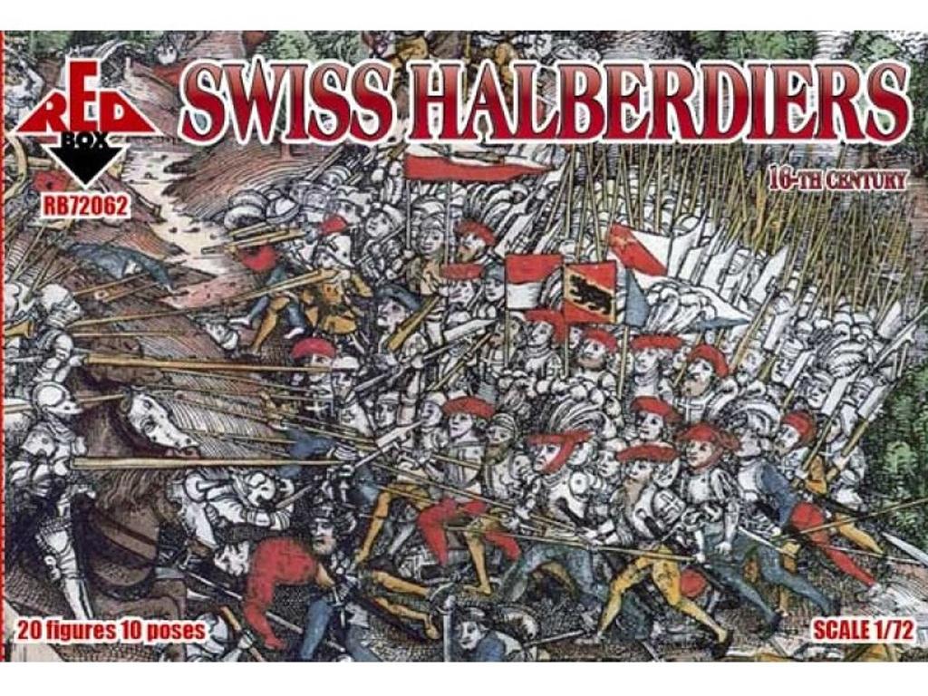 Alabarderos Suizos Siglo XVI  (Vista 1)