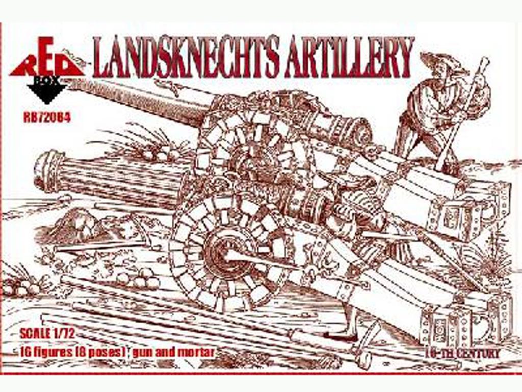Landsknechts Artillería 16 c  (Vista 1)