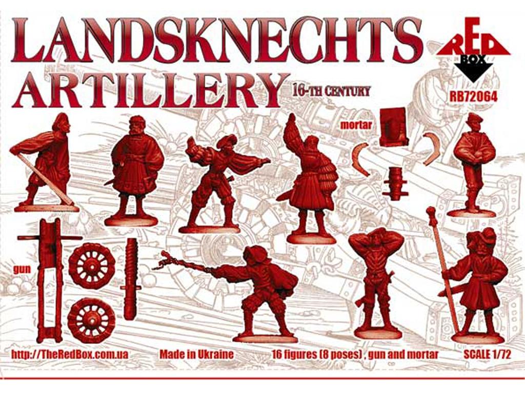 Landsknechts Artillería 16 c  (Vista 2)