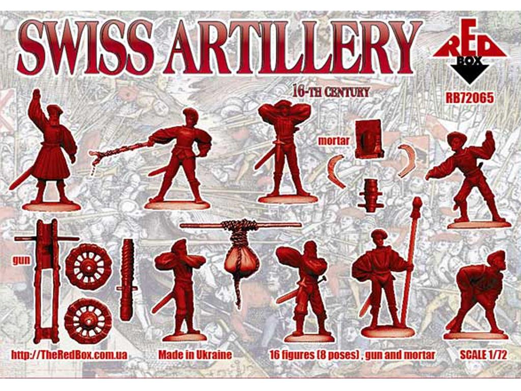Artillería Suiza Siglo XVI  (Vista 2)