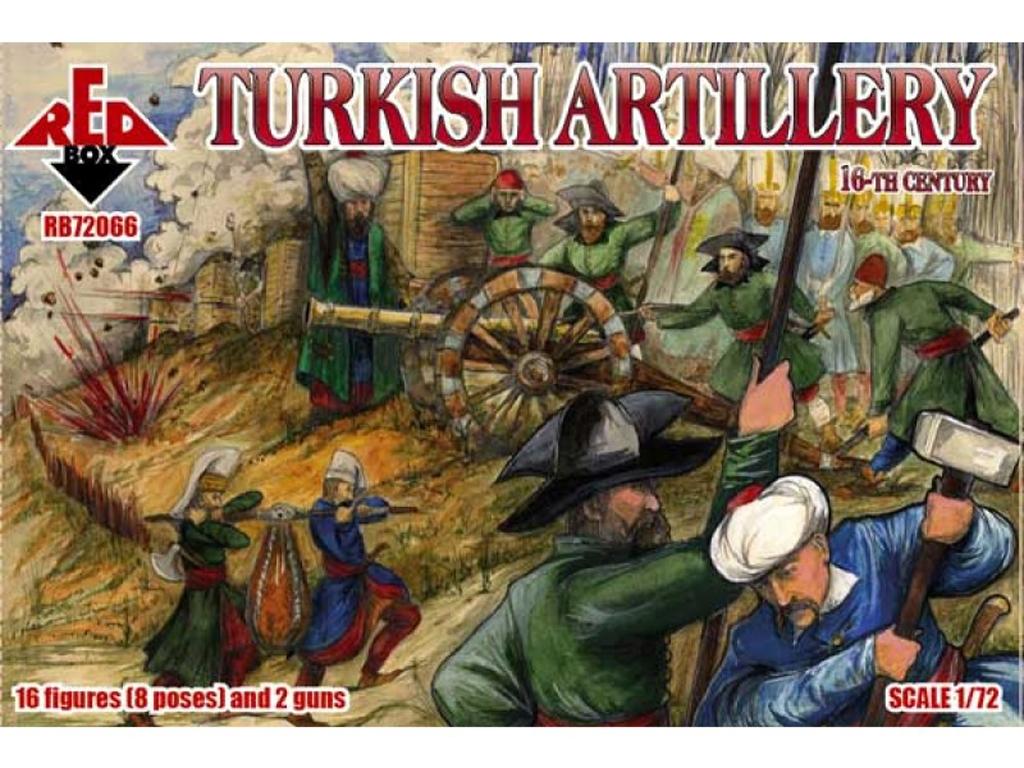 Artillería Turca Siglo XVI  (Vista 1)