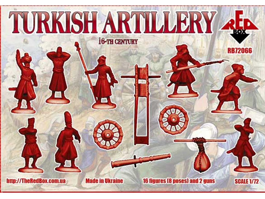 Artillería Turca Siglo XVI  (Vista 2)