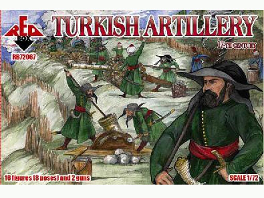 Morteros de Artillería Turcos Siglo XVI  (Vista 1)