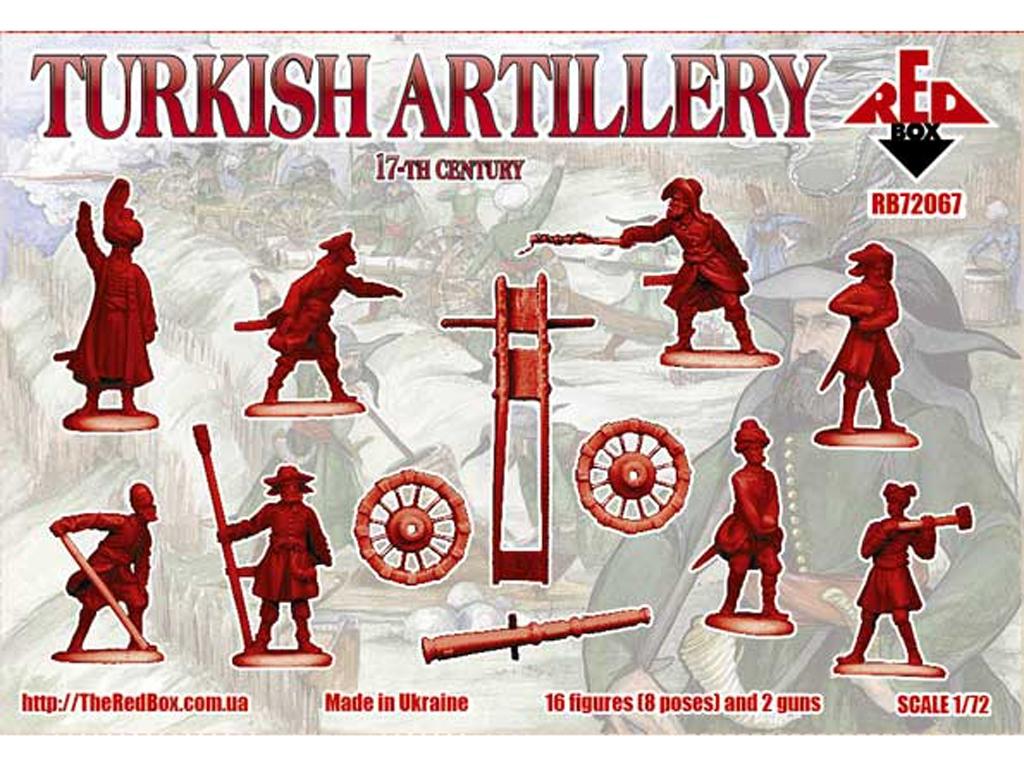 Morteros de Artillería Turcos Siglo XVI  (Vista 2)