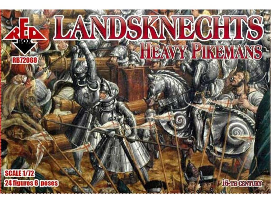 Landsknechts Heavy Pikemen Siglo XVI  (Vista 1)