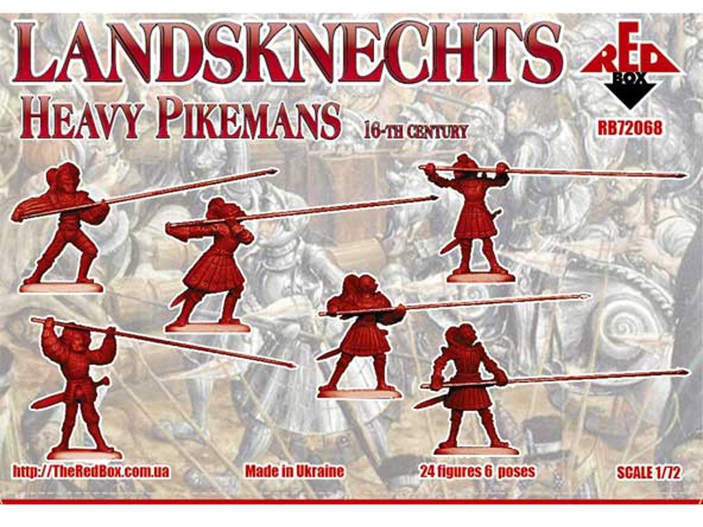 Landsknechts Heavy Pikemen Siglo XVI  (Vista 2)
