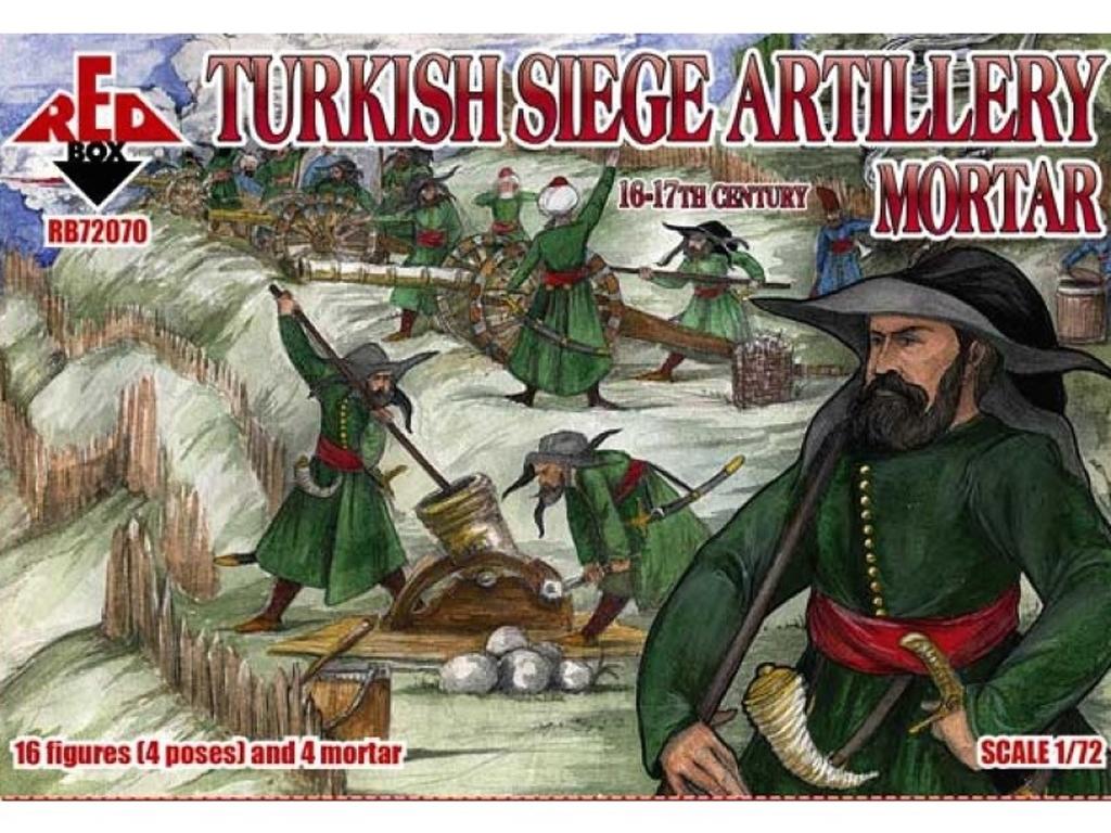 Artillería de Asedio Turca. Mortero, Sig  (Vista 1)