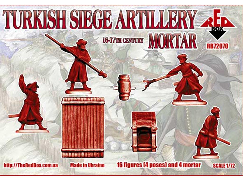 Artillería de Asedio Turca. Mortero, Sig  (Vista 2)