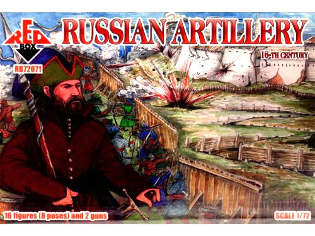 Artillería Rusa Siglo XVI  (Vista 1)