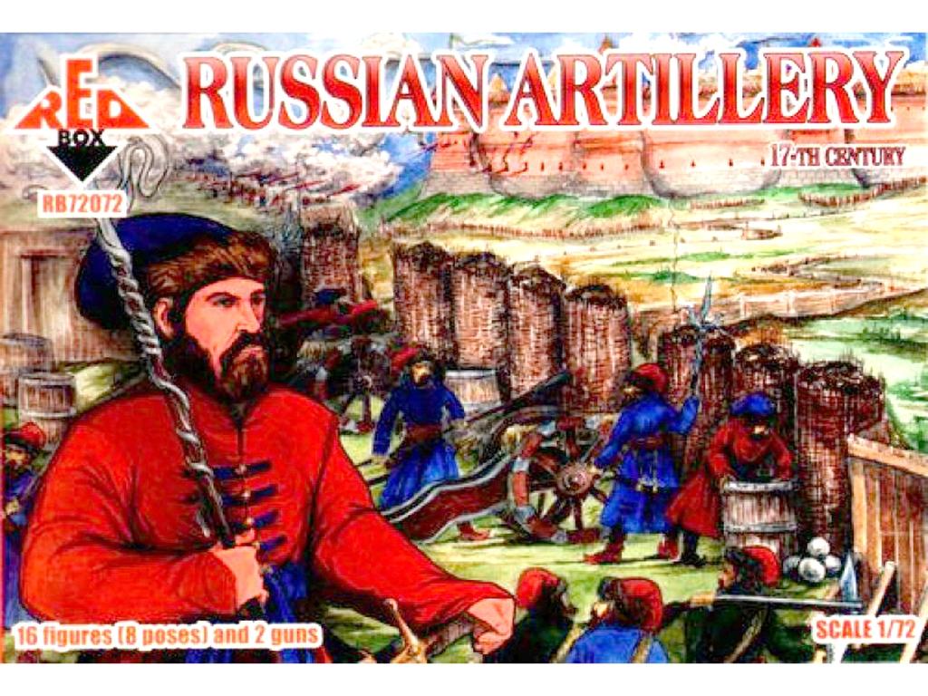 Artillería Rusa Siglo XVII  (Vista 1)