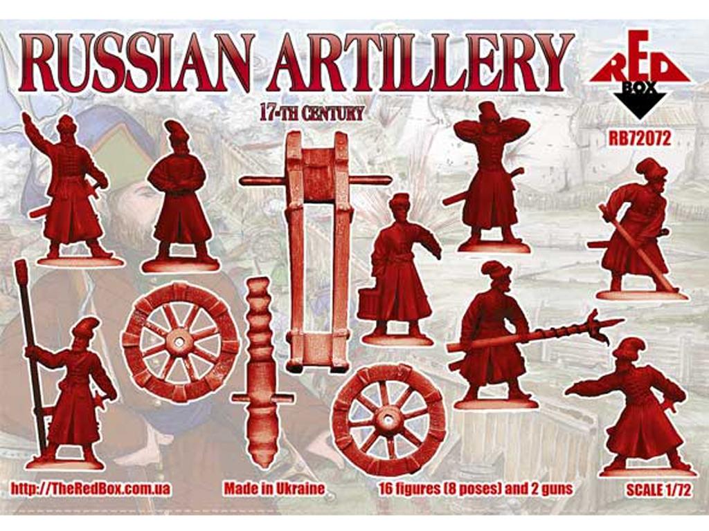 Artillería Rusa Siglo XVII  (Vista 2)