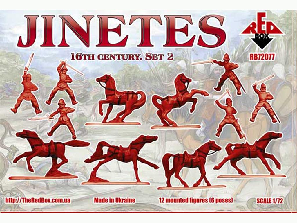 Jinetes. Siglo XVI. Set 2  (Vista 2)