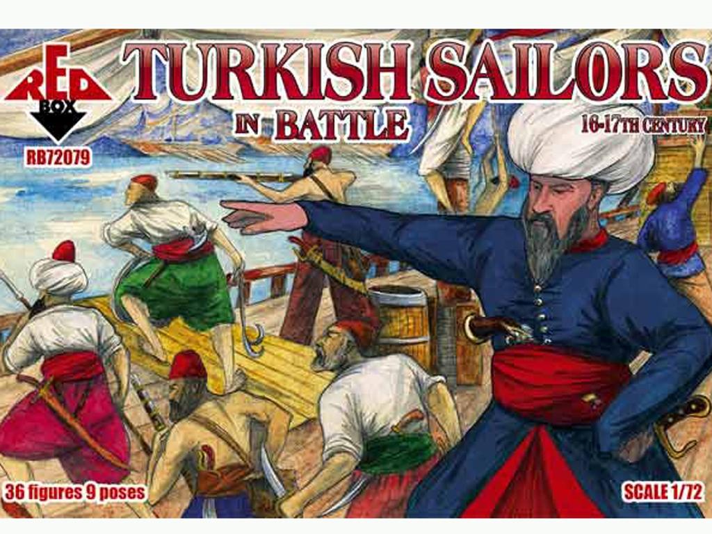 Marineros Turcos en Batalla siglo 16-17  (Vista 1)