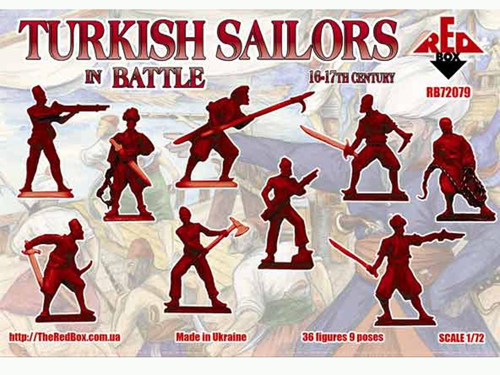Marineros Turcos en Batalla siglo 16-17  (Vista 2)