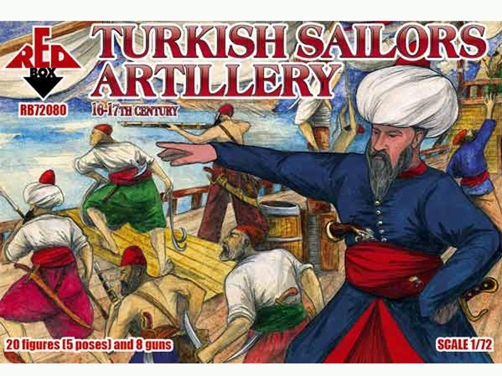 Marineros Turcos Artillería siglo 16-17  (Vista 1)