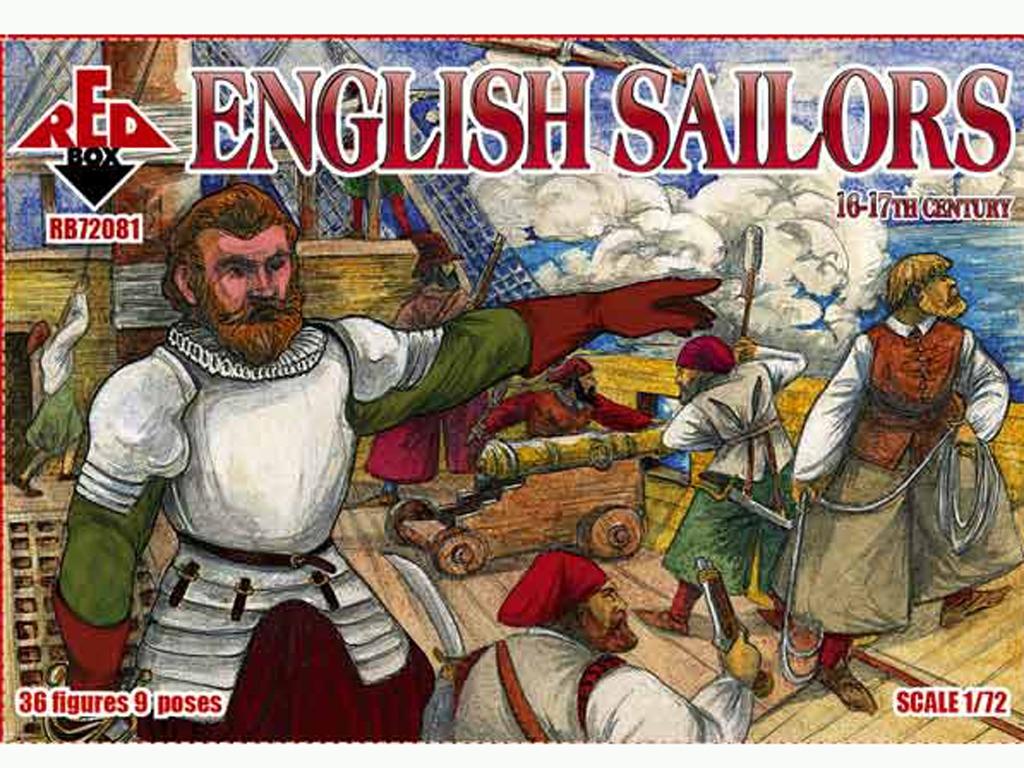 Marineros Ingleses siglo 16-17  (Vista 1)