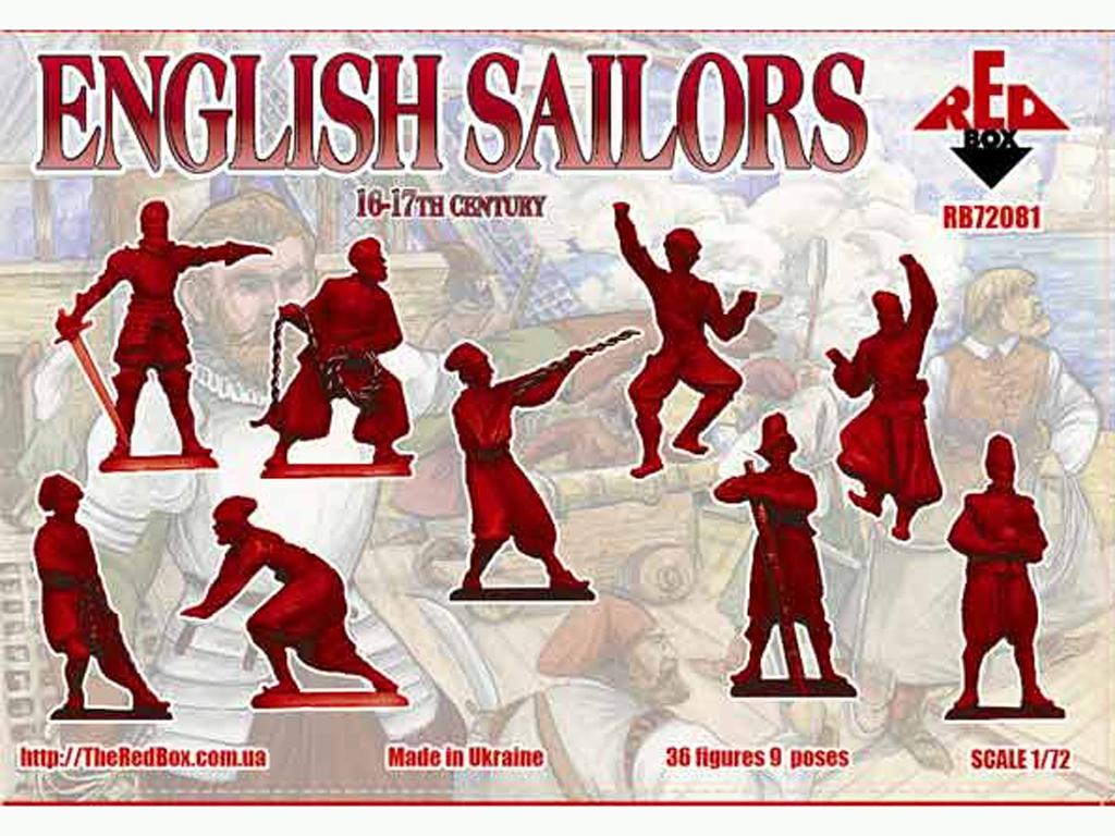 Marineros Ingleses siglo 16-17  (Vista 2)