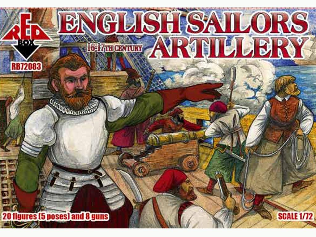 Marineros Ingleses Artillería siglo 16-1  (Vista 1)