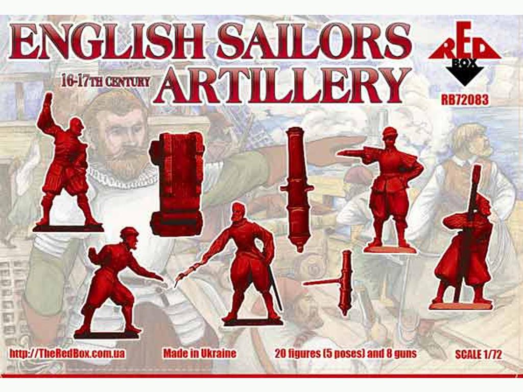 Marineros Ingleses Artillería siglo 16-1  (Vista 2)