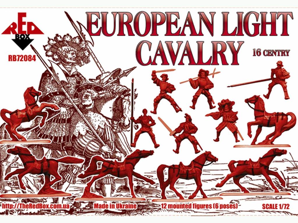 Caballería Ligera Europea. Siglo XVI. Se  (Vista 2)