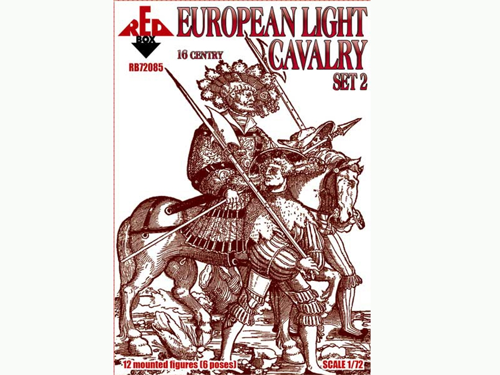 Caballería Ligera Europea. Siglo XVI. Se  (Vista 1)