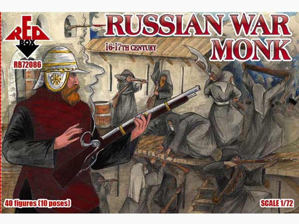 Monjes guerreros Rusos siglos 16-17  (Vista 1)