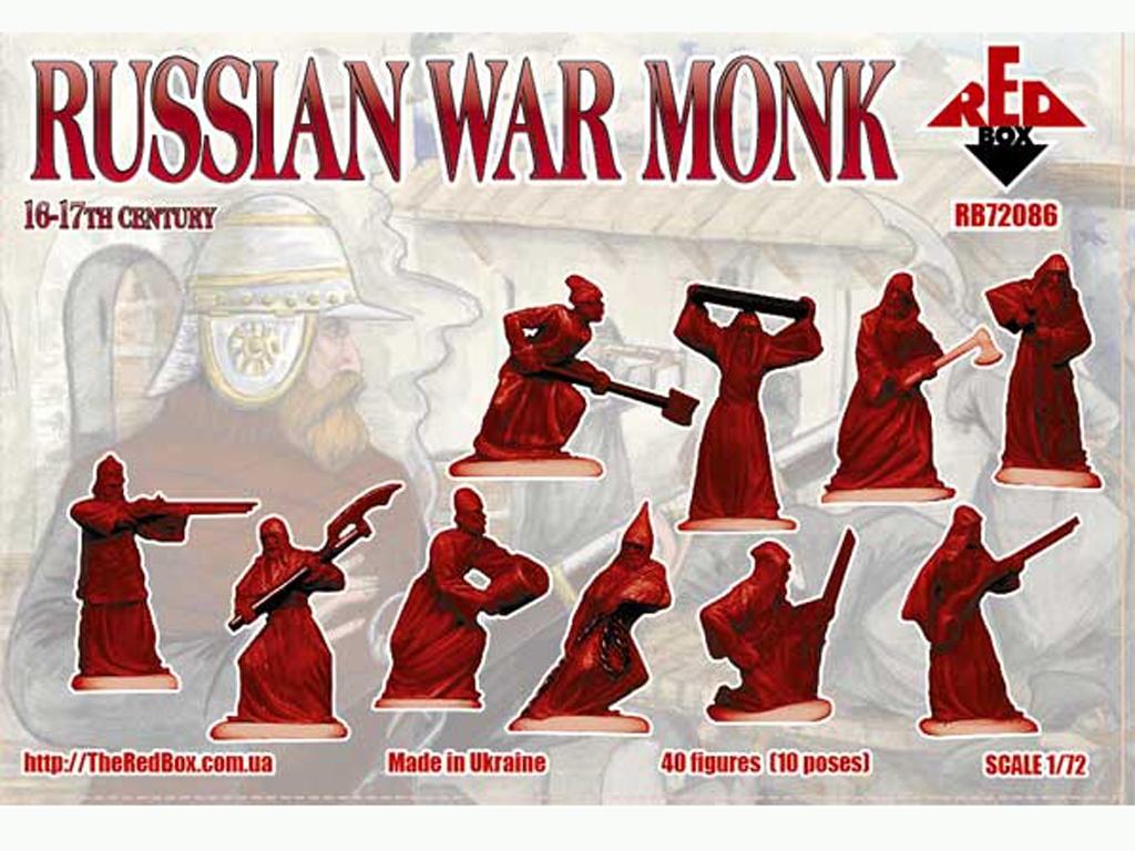 Monjes guerreros Rusos siglos 16-17  (Vista 2)