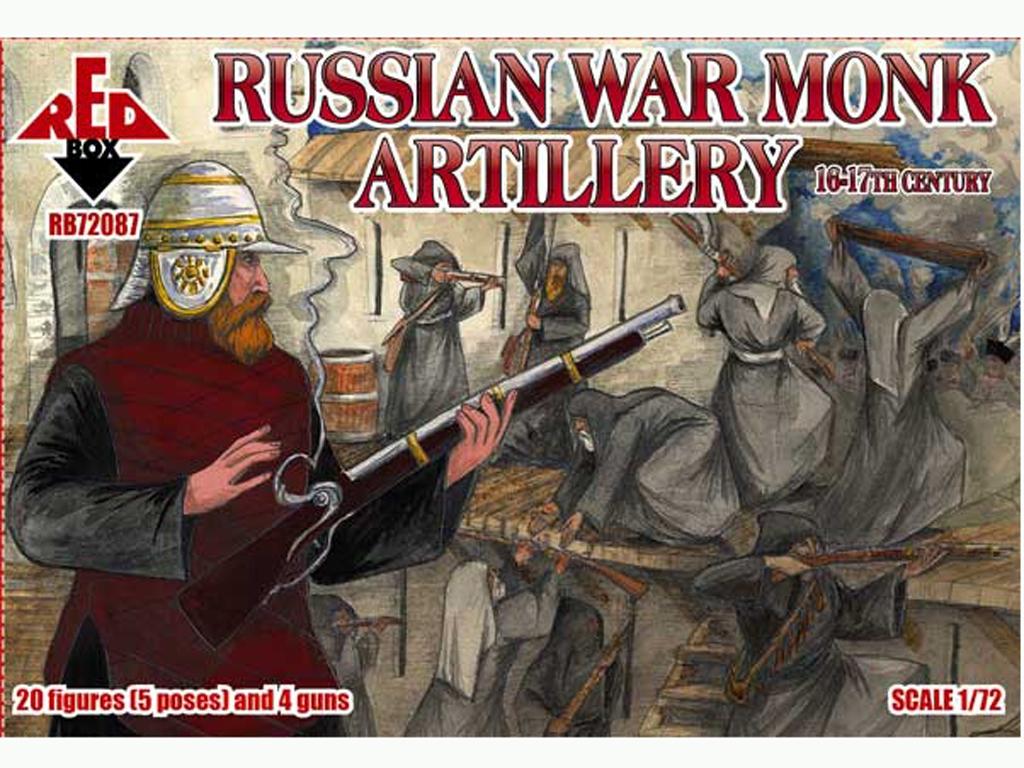 Monjes Guerreros Rusos Artillería Siglos  (Vista 1)