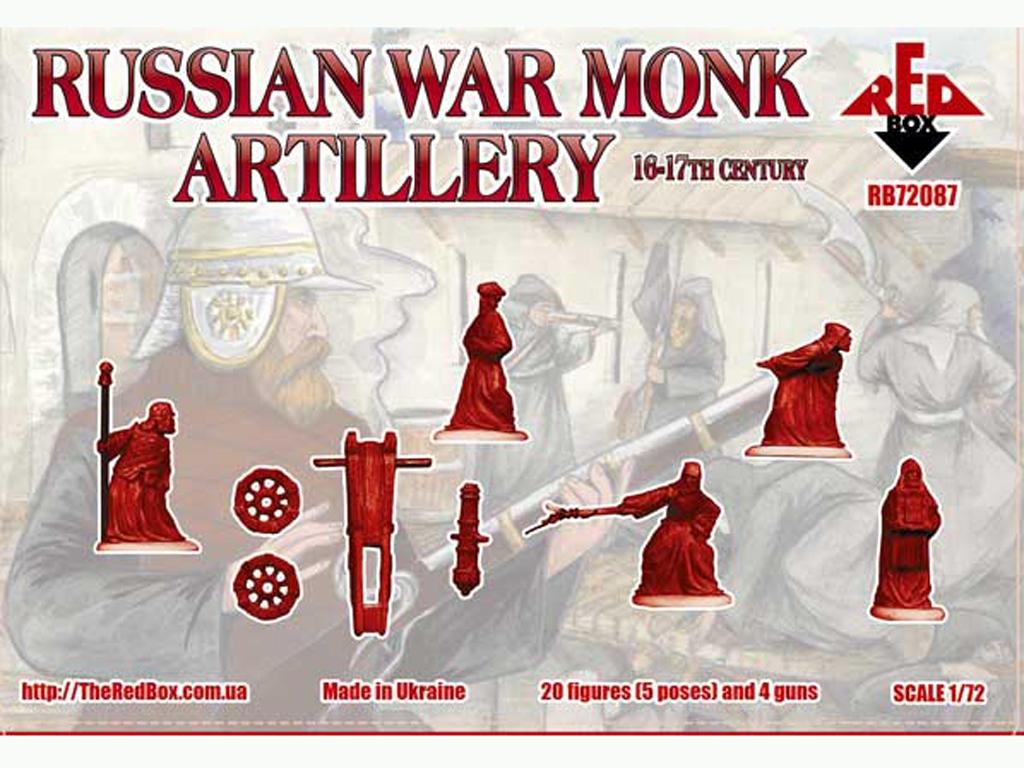 Monjes Guerreros Rusos Artillería Siglos  (Vista 2)