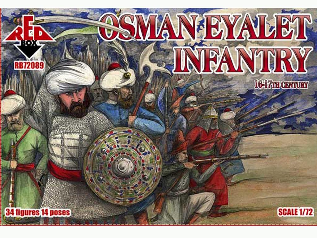 Infantería Osman Eyalet Siglo 16-17  (Vista 1)