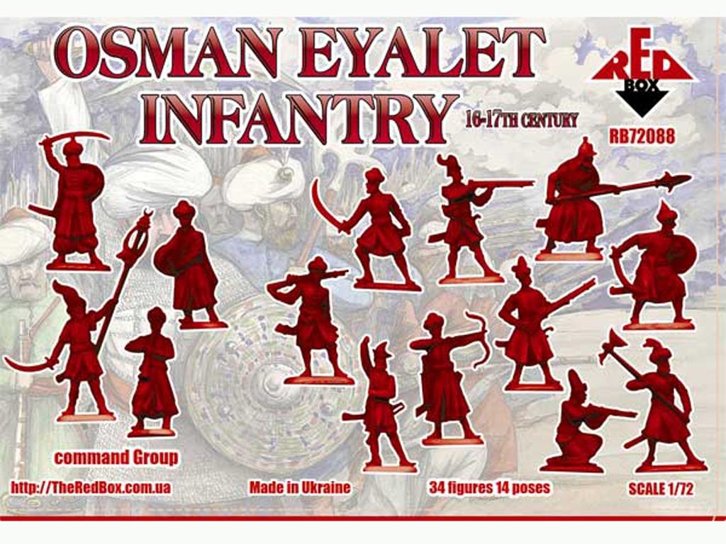 Infantería Osman Eyalet Siglo 16-17  (Vista 2)