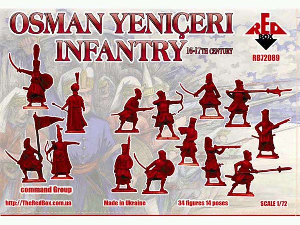 Infantería Osman Yeniçeri siglo 16-17  (Vista 2)