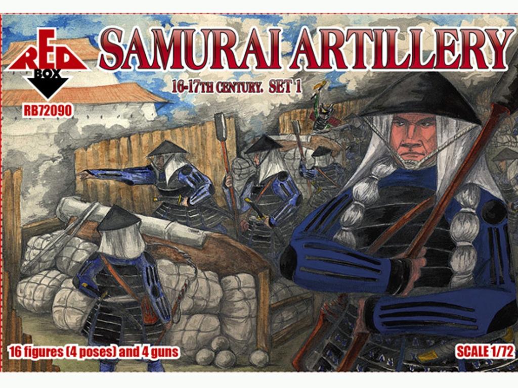 Artillería Samurai Siglo XVI-XVII Set 1  (Vista 1)