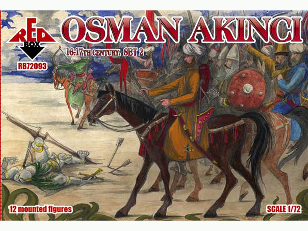 Osman Akinci 16-17 siglo Set 2  (Vista 1)