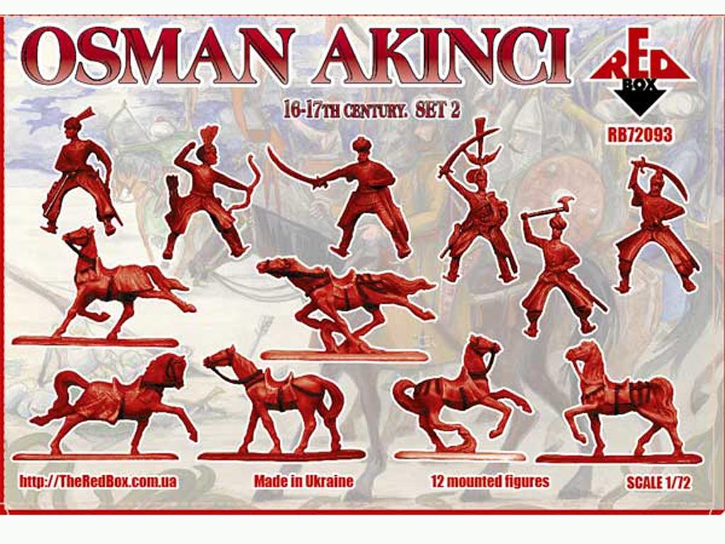 Osman Akinci 16-17 siglo Set 2  (Vista 2)