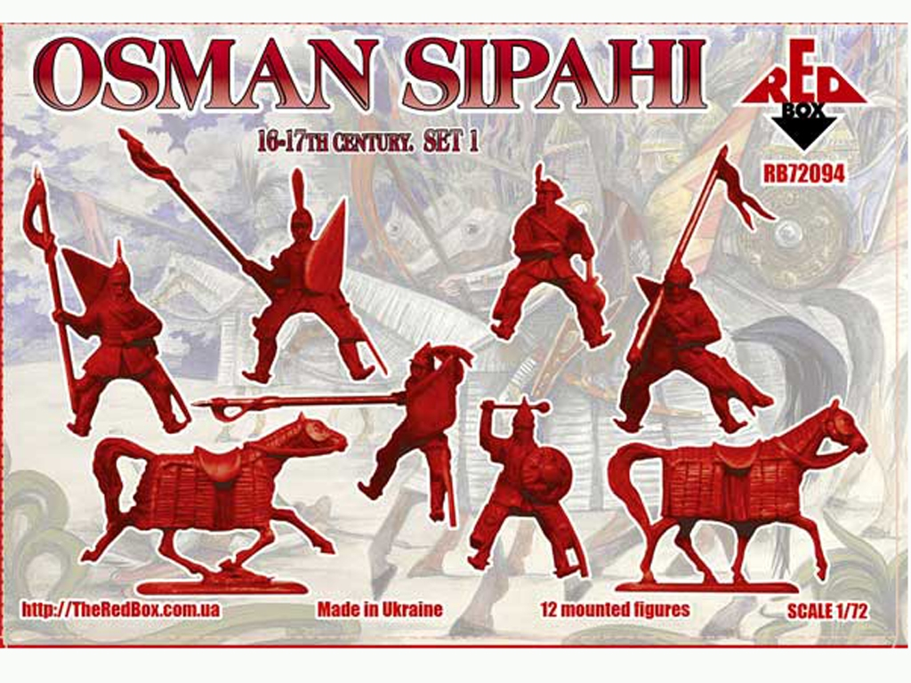 Osman Sipahi 16-17 siglo Set 1  (Vista 2)