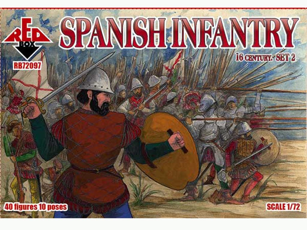 Infantería Español Set 2 Siglo 16  (Vista 1)