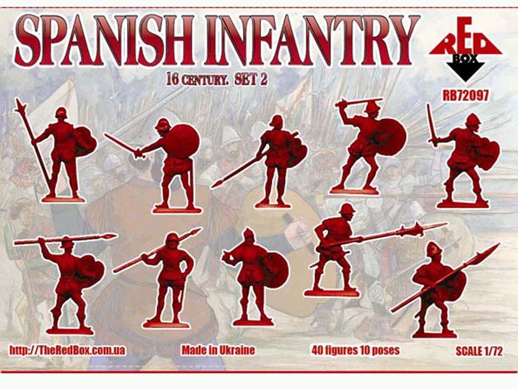 Infantería Español Set 2 Siglo 16  (Vista 2)