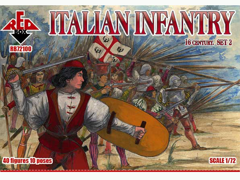 Infantería Italiana Set 2 Siglo XVI  (Vista 1)