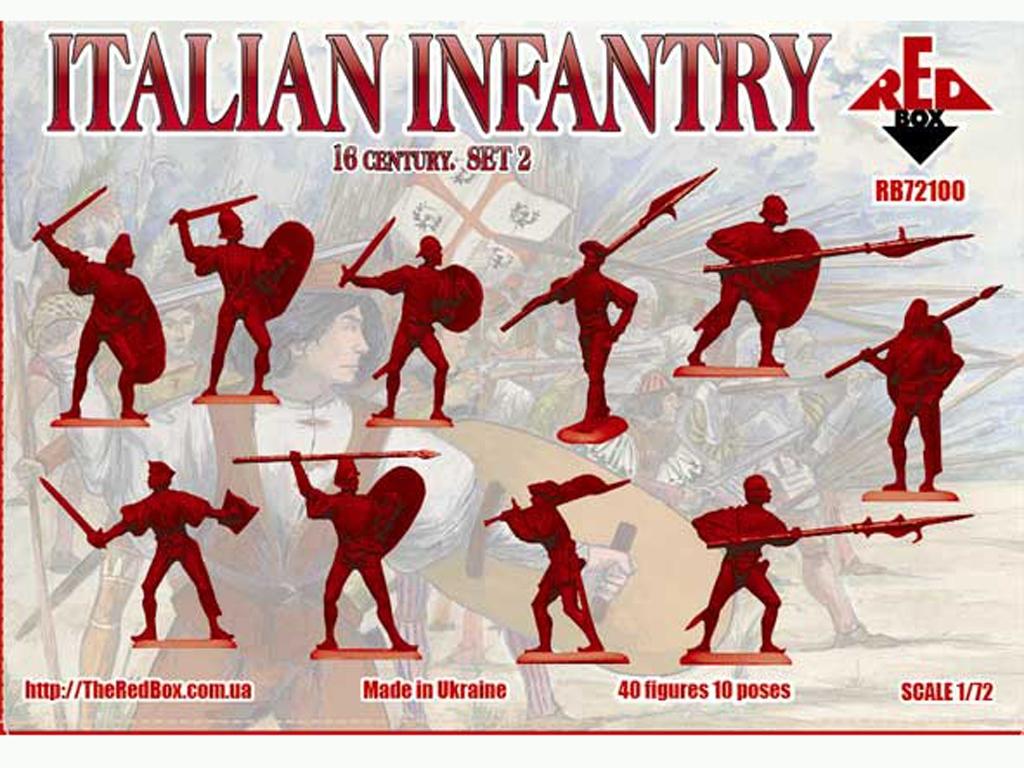 Infantería Italiana Set 2 Siglo XVI  (Vista 2)