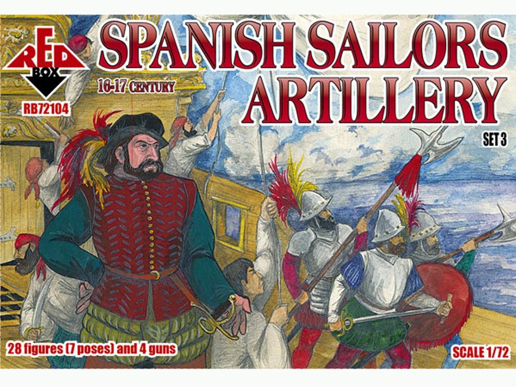 Marineros Españoles Artlleria Siglo XVI-  (Vista 1)