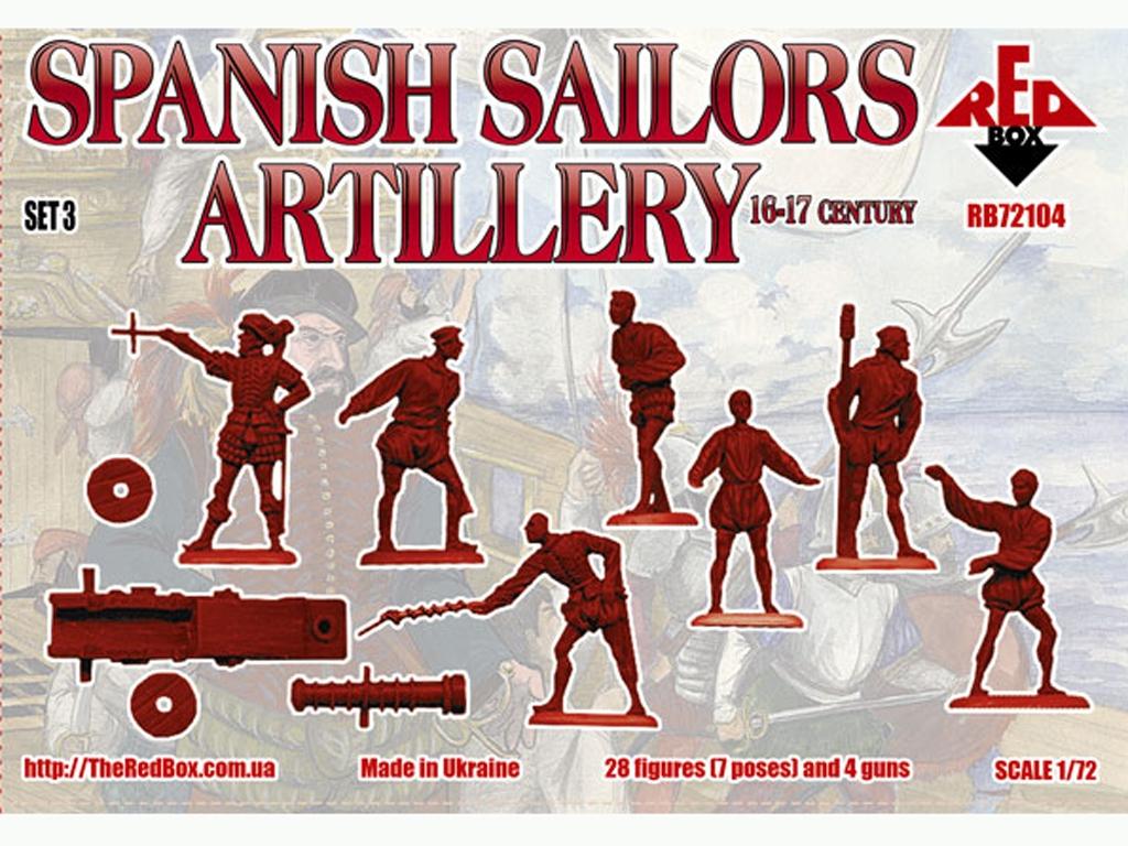 Marineros Españoles Artlleria Siglo XVI-  (Vista 2)