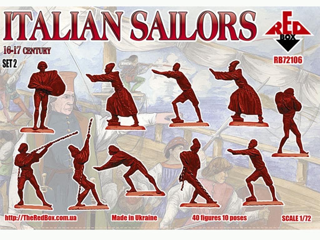 Marineros Italianos Set 2 Siglo XVI-XVII  (Vista 2)