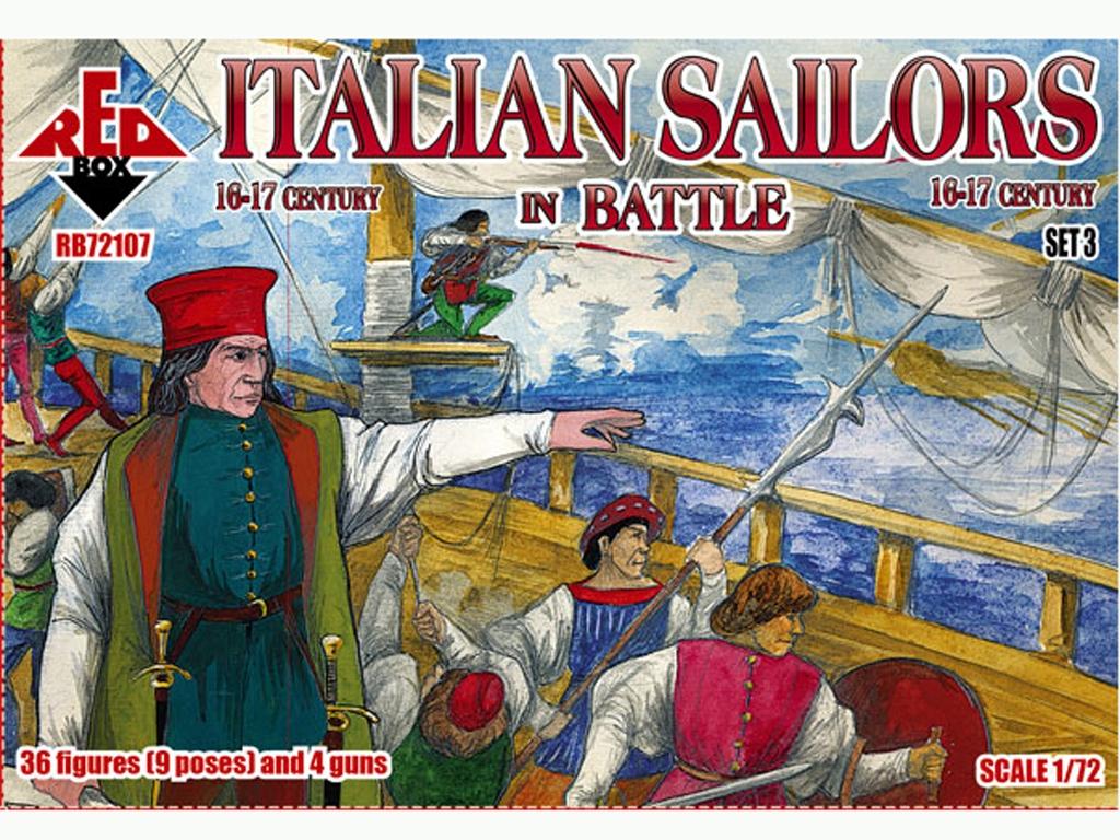Marineros Italianos en Batalla Siglo XVI  (Vista 1)