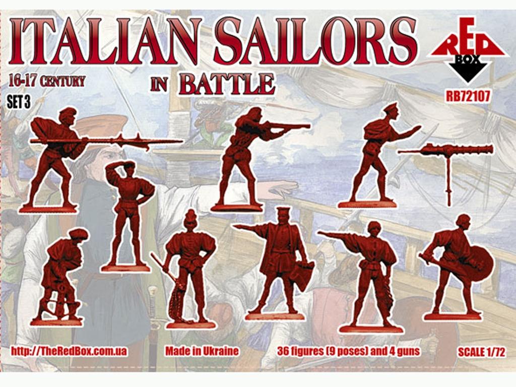 Marineros Italianos en Batalla Siglo XVI  (Vista 2)