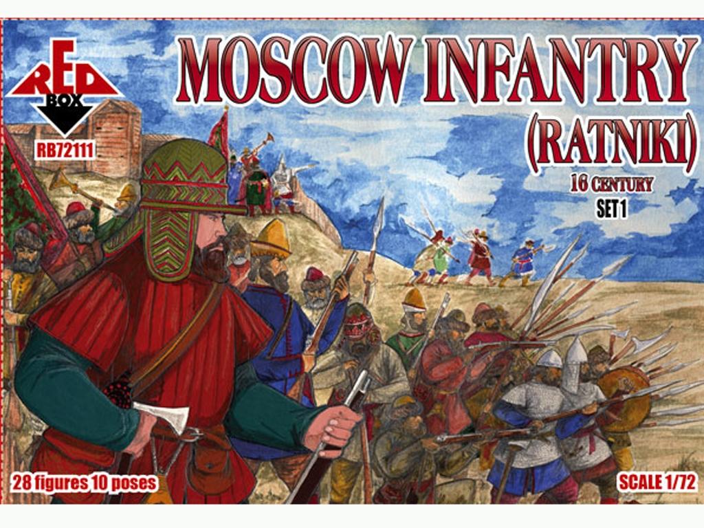 Infantería de Moscú Ratniki Set 1 Siglo   (Vista 1)