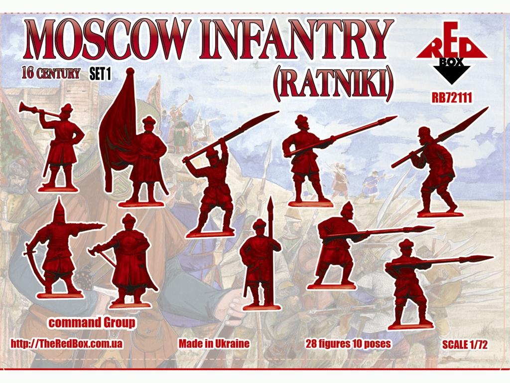 Infantería de Moscú Ratniki Set 1 Siglo   (Vista 2)