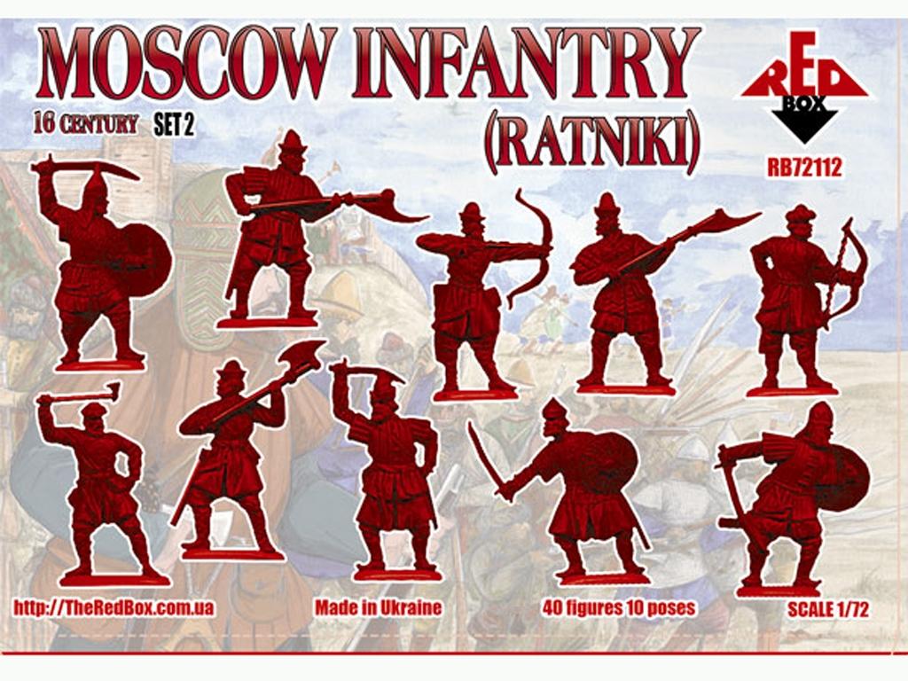 Infantería de Moscú Ratniki Set 2 Siglo   (Vista 2)