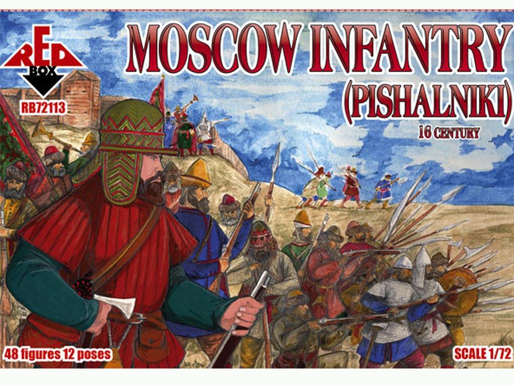 Infantería de Moscú (pishalniki) Siglo X  (Vista 1)
